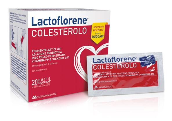 Lactoflorene colesterolo 40 bustine