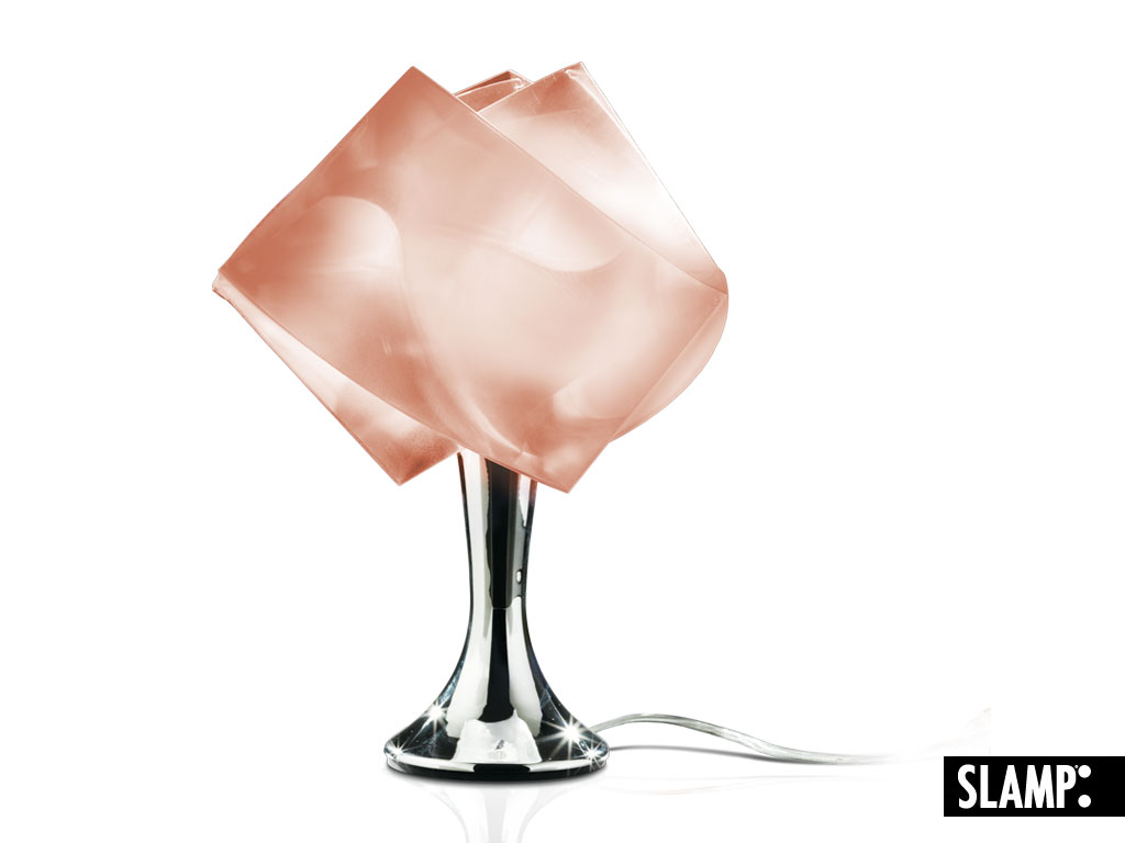 LAMPADA TAVOLO GEMMY PRISMA RUBINO SLAMP