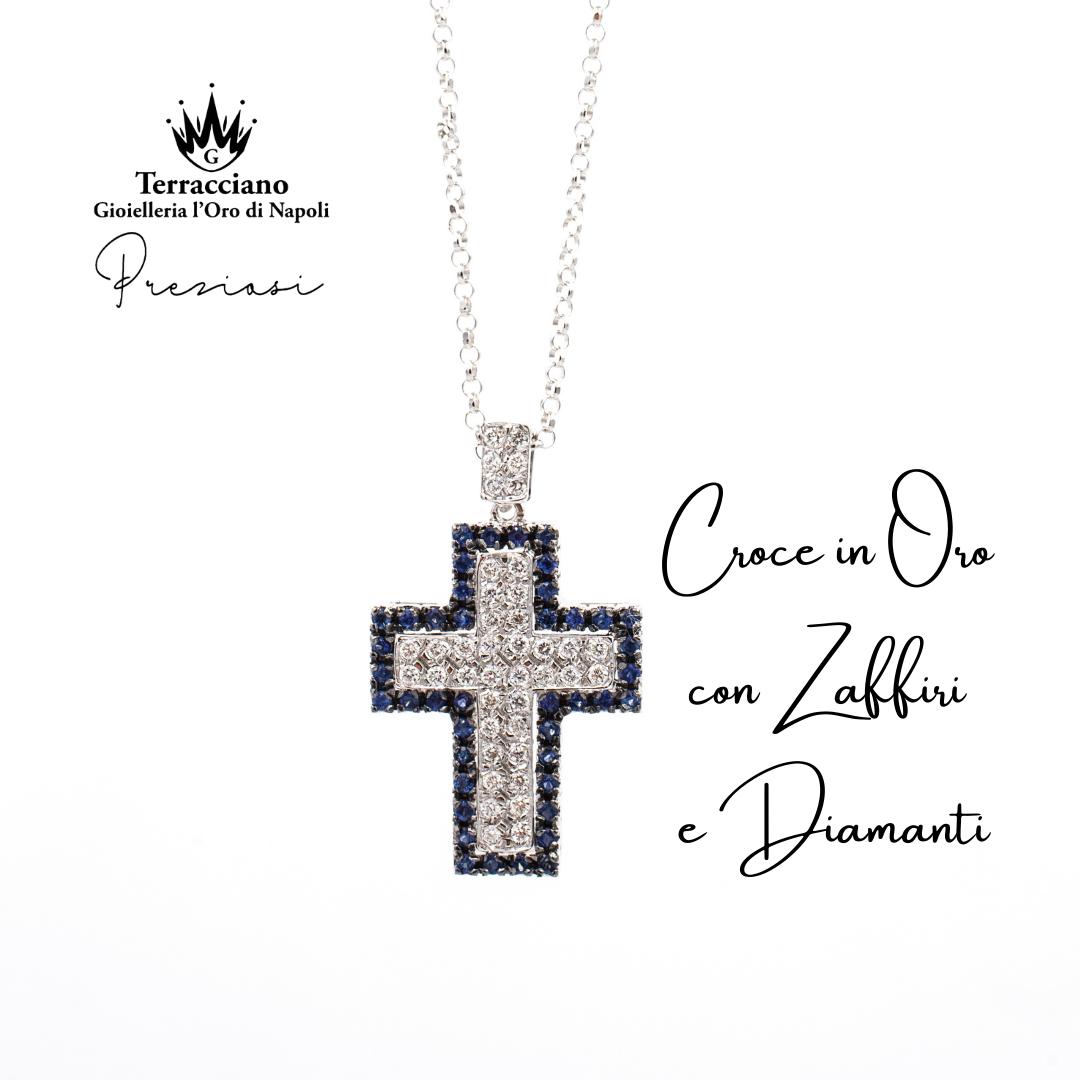 Croce Zaffiri e Diamanti