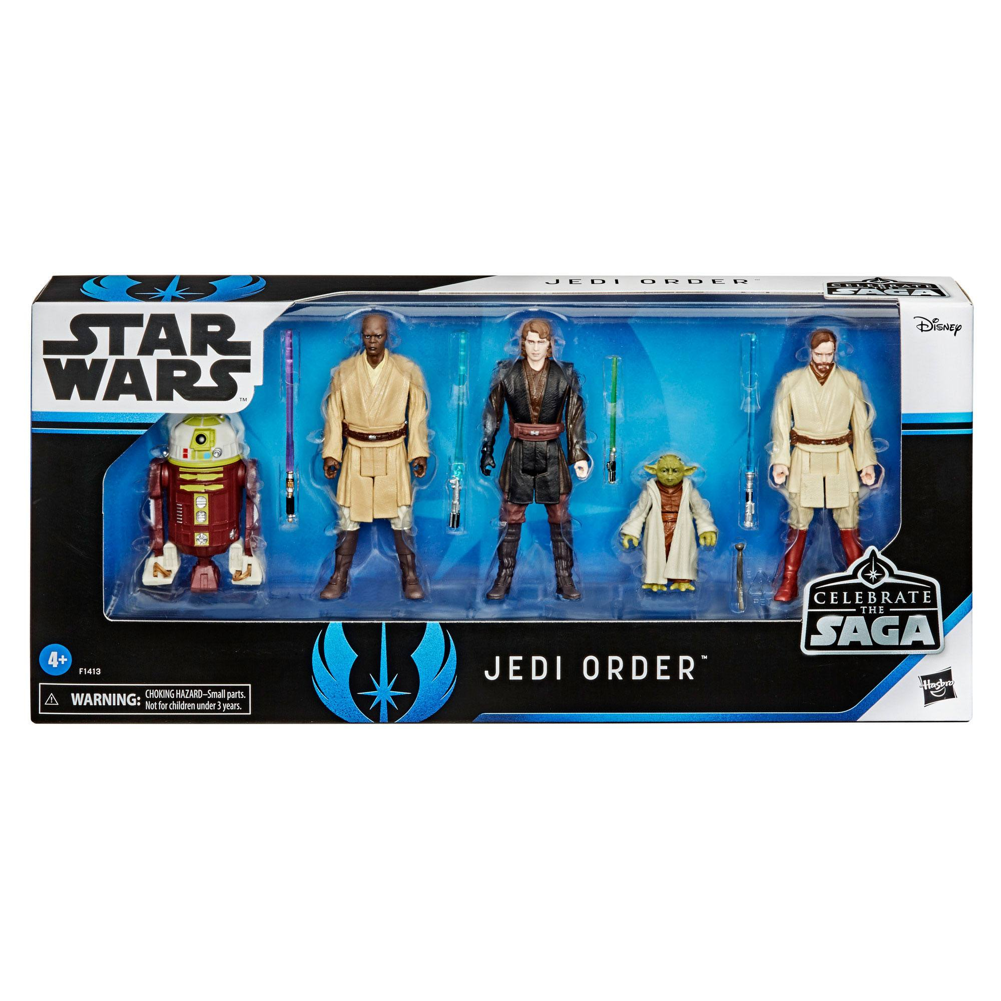 Star Wars Celebrate the Saga Action Figures: THE JEDI ORDER by Hasbro