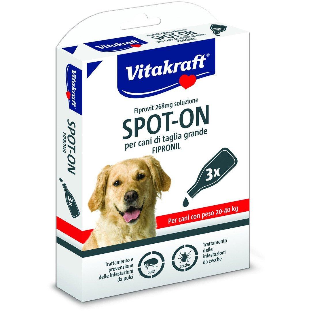 VITAKRAFT SPOT-ON 268ml ANTIPARASSITARIO PER CANI 120-40 KG