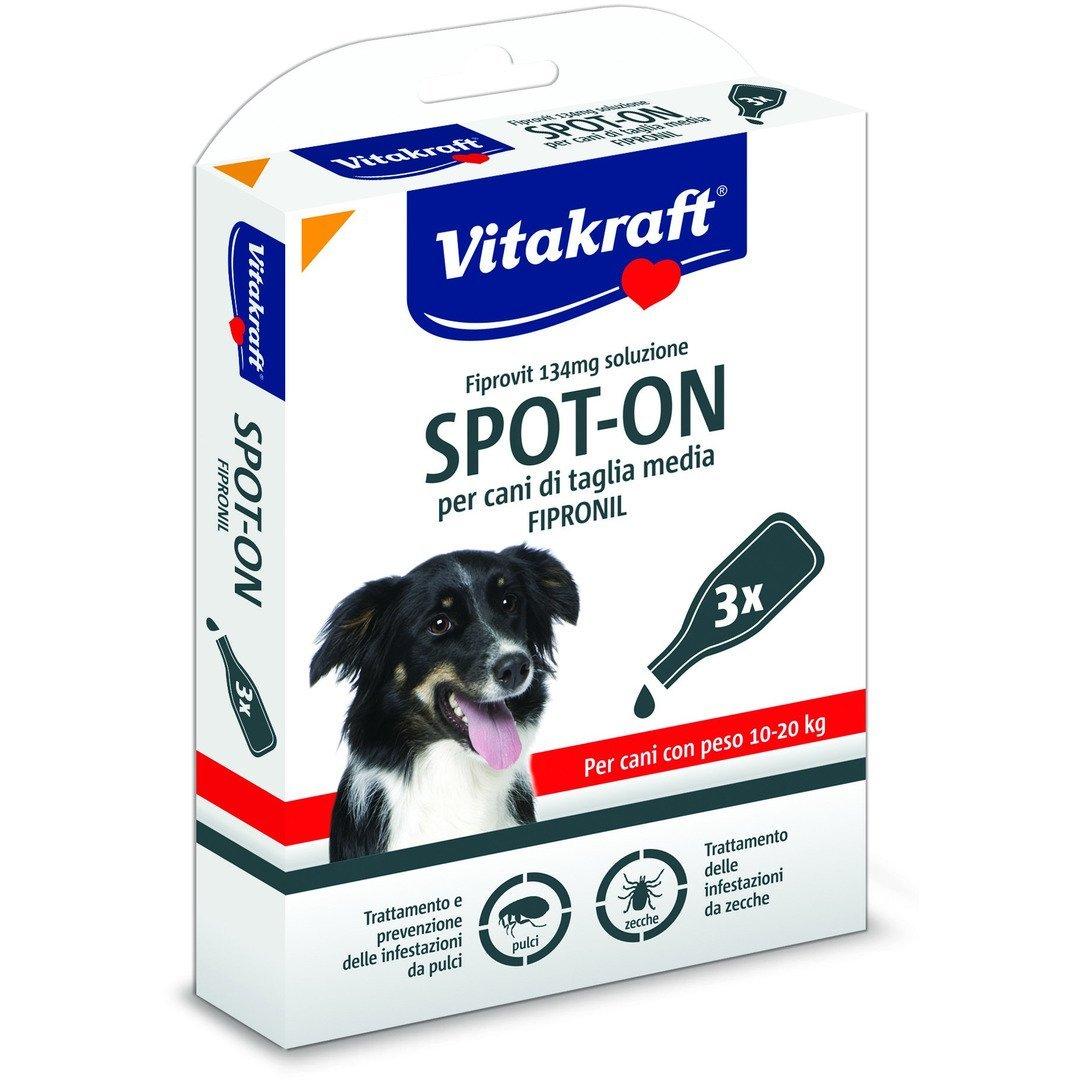 VITAKRAFT SPOT-ON 134ml ANTIPARASSITARIO PER CANI 10-20 KG