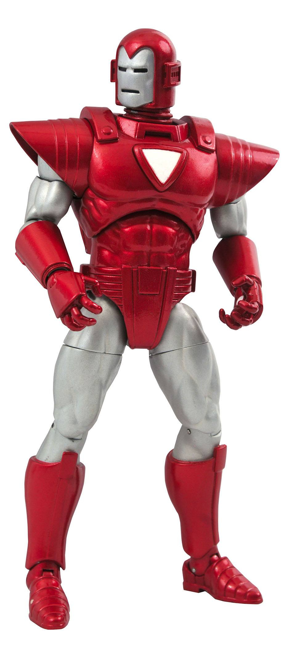 *PREORDER* Marvel Select Action Figure: IRON MAN - SILVER CENTURION by Diamond Select