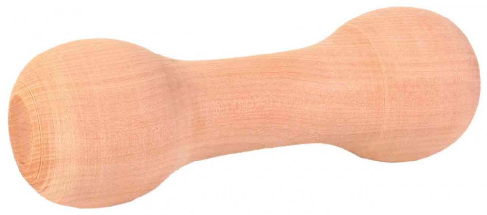 Trixie - Bilanciere arrotondato da riporto in legno - 15cm