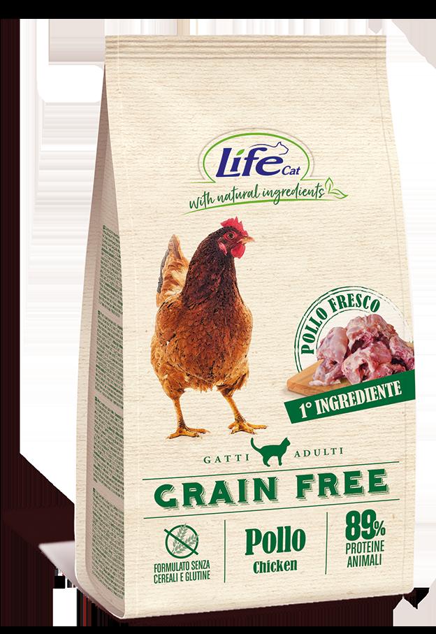 Life Cat - Adult - Grain Free - Pollo e Patate - 1.5kg