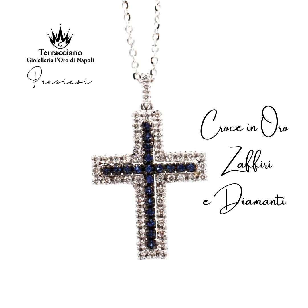Croce di Zaffiri e Diamanti