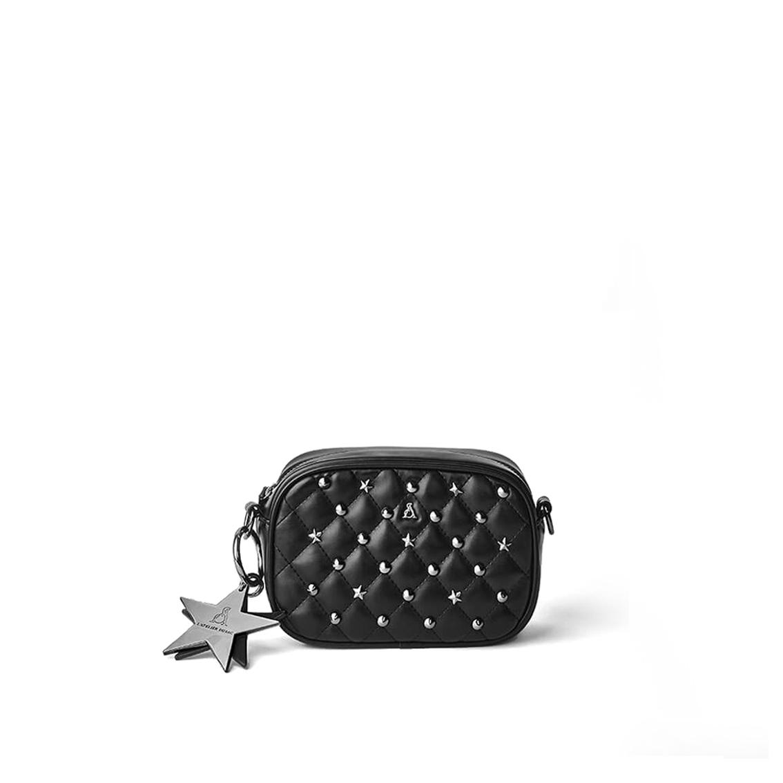 Minibag nera matelassé PashBag