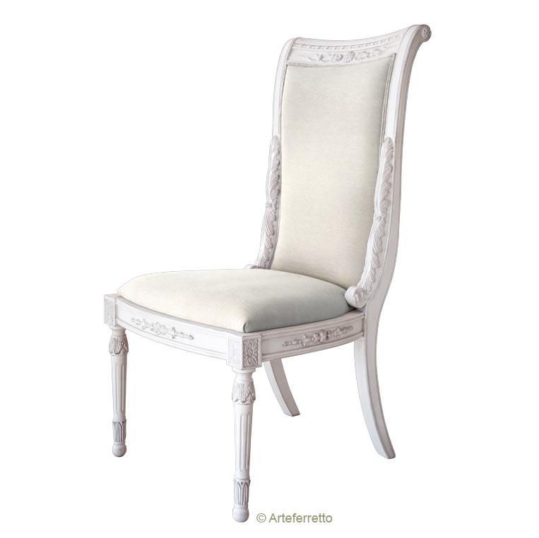 Chaise sculptée 'Agrigento'