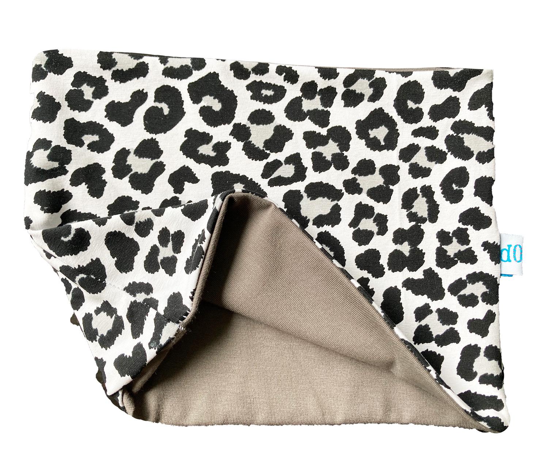 Leopardo - paracollo doppio in cotone