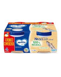 MELLIN OMO NASELLO 4x80g