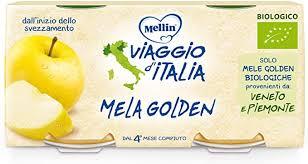 MELLIN OMO BIO MELA GOLDEN 2x100g