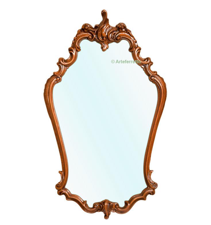 Miroir galbé style classique