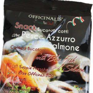 DALLA GRANA ITALY PET CHEF SNACK PER CANI BUCATONI PESCE AZZURRO E SALMONE 100 GR