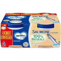 MELLIN OMO SALMONE 4x80g