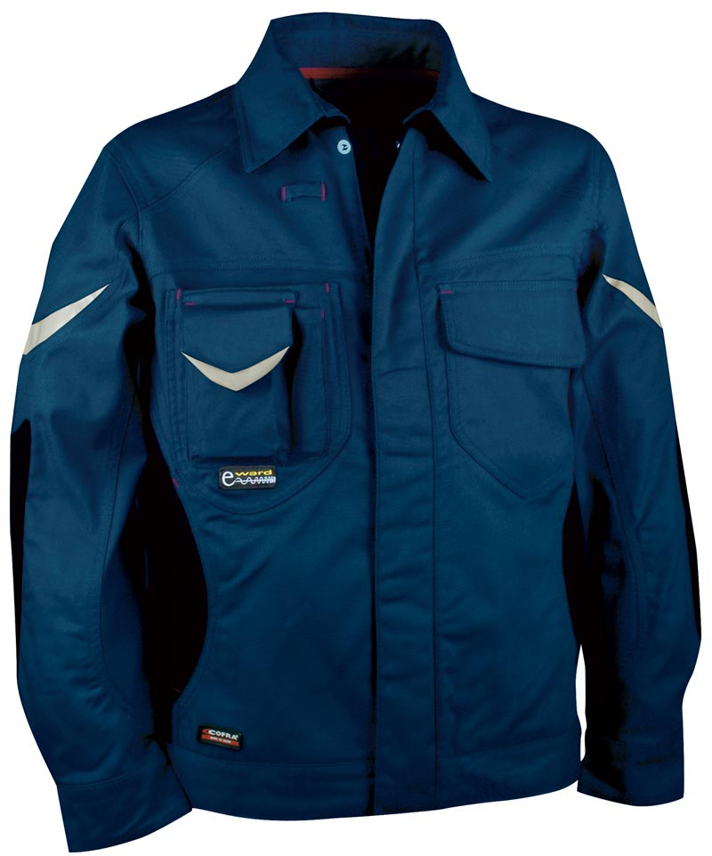 Giacca da lavoro Cofra Wall - Blu Navy