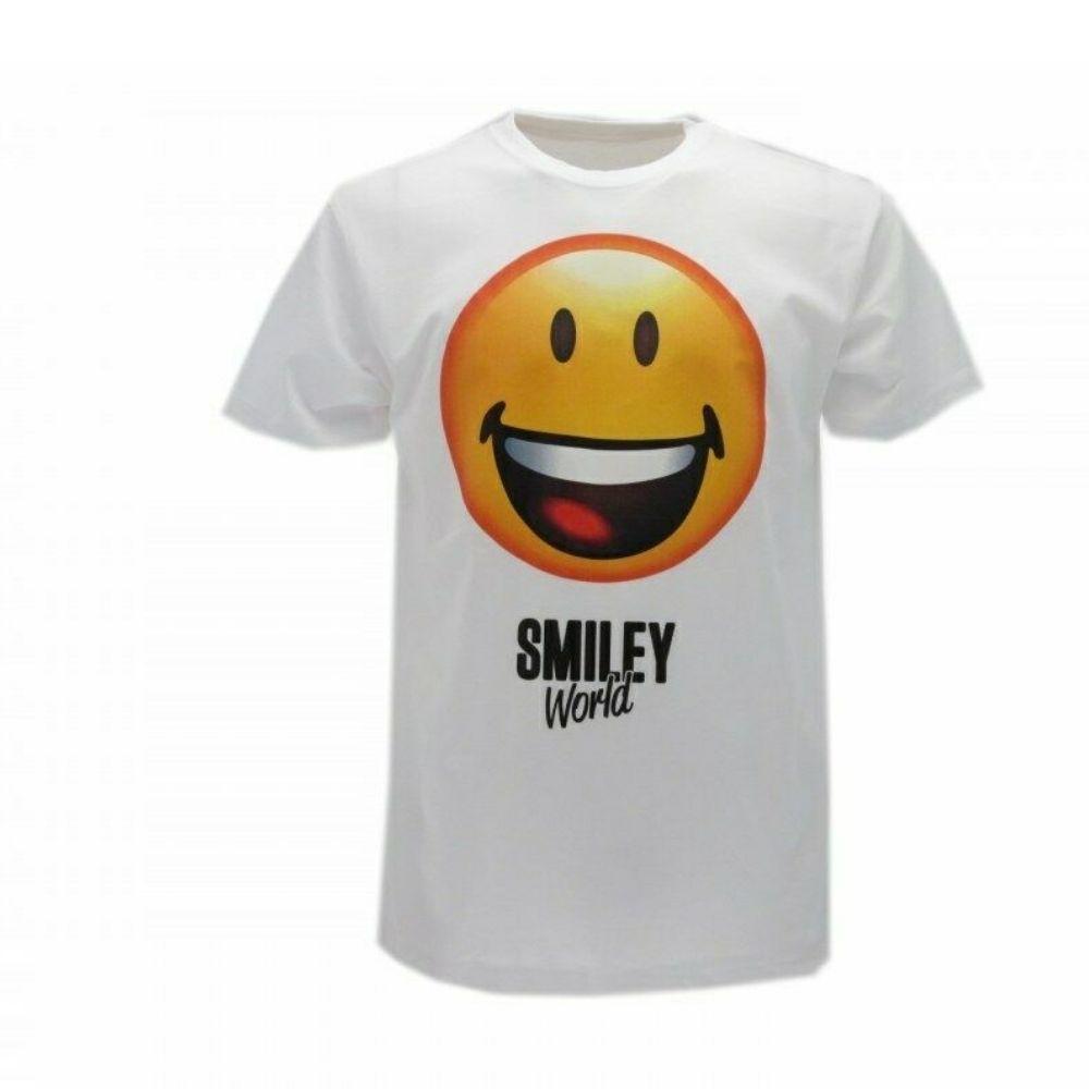 Maglietta taglia M Smiley World  manica corta faccina sorriso
