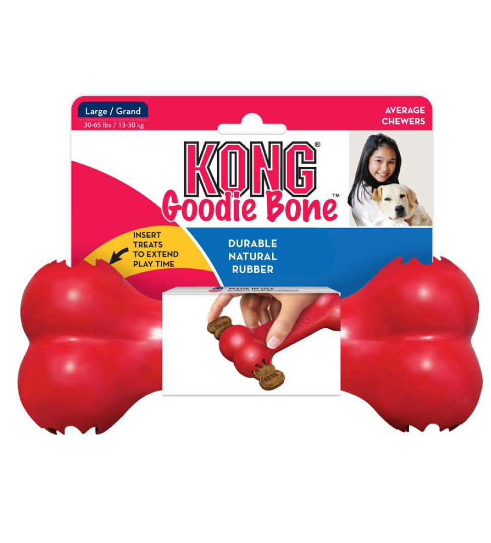 Kong - Goodie Bone - L