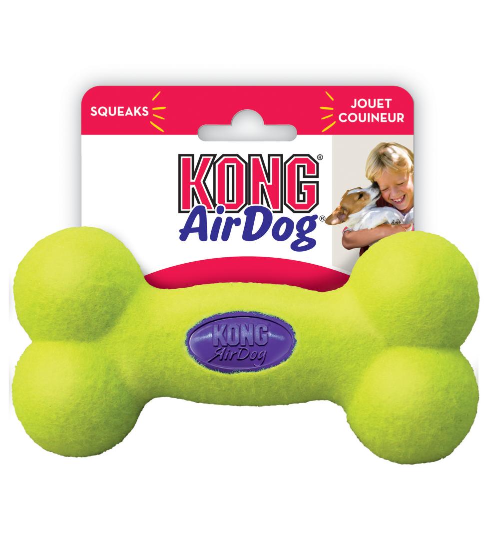 Kong - AirDog Squeaker Bone - L
