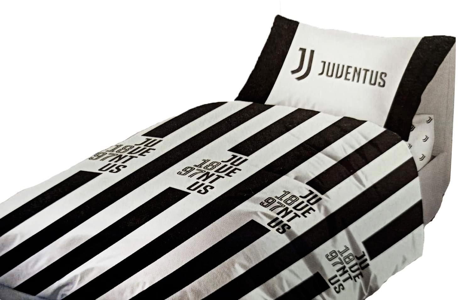 Completo Letto in Cotone 1 piazza e mezza Prodotto Ufficiale Juventus