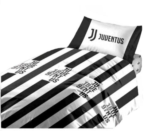 Copripiumino Juventus 1 piazza e mezza in cotone