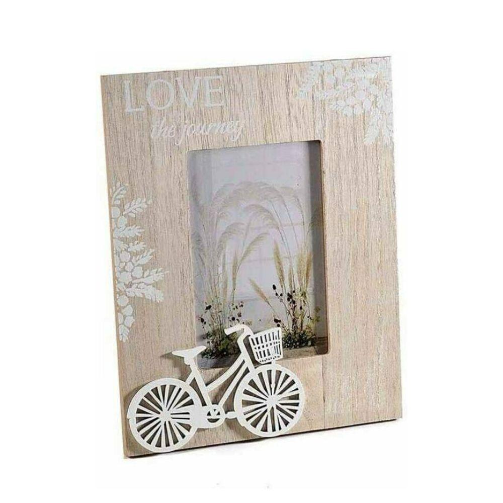 Portafotografie cornice con bicicletta in rilievo
