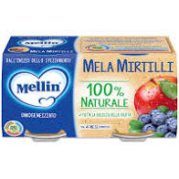 OMO MELA/MIRTILLO 2x100g
