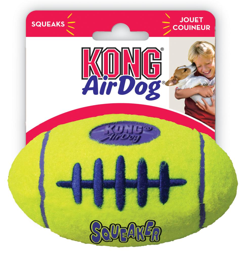 Kong - AirDog Squeaker Football - M