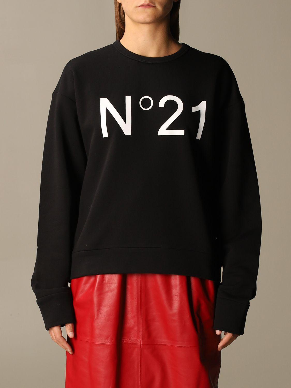 Felpa nera n°21