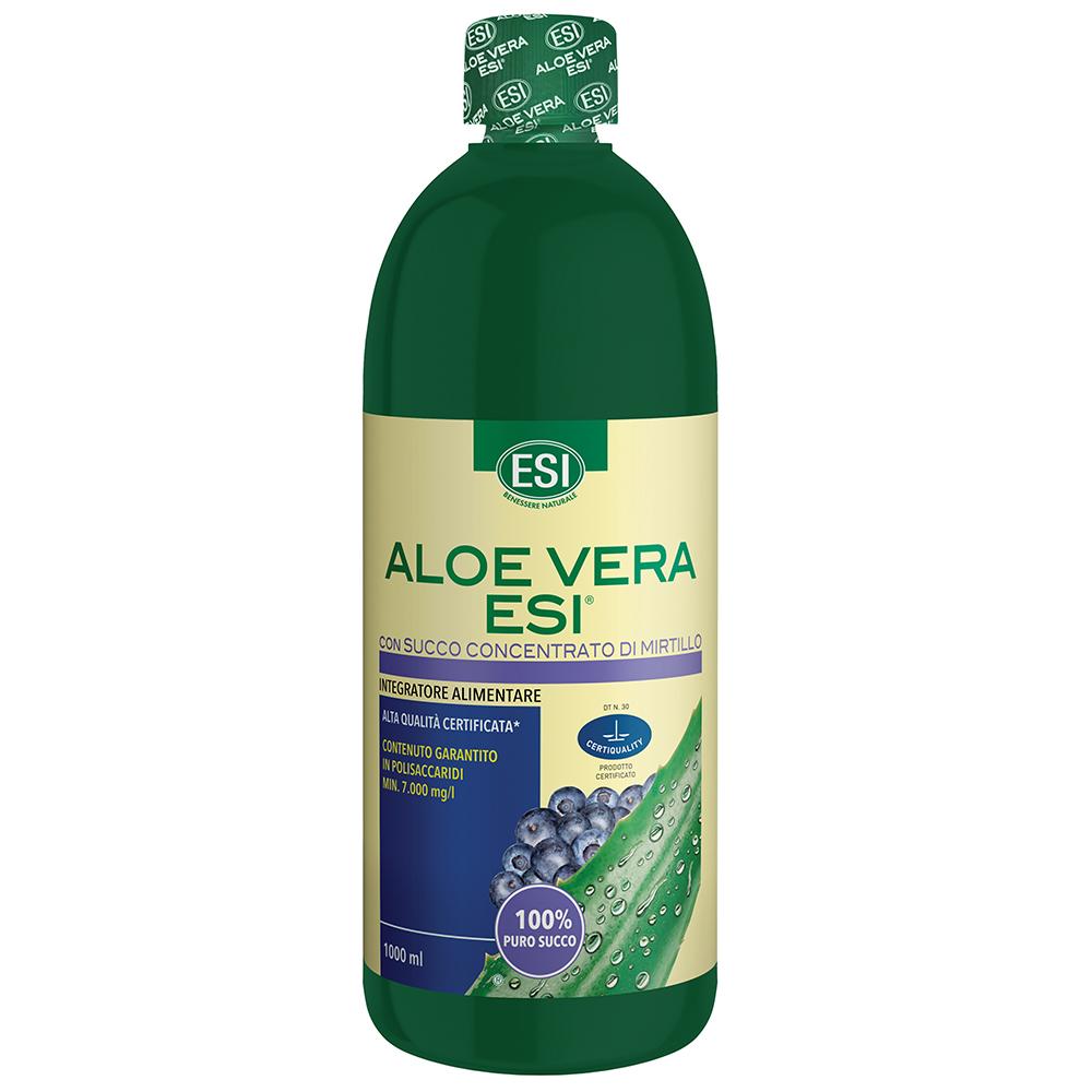Aloe vera con succo concentrato di mirtillo 1L