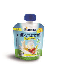 HUMANA MILKY YOGURT FRAGOLA E BANANA 100g