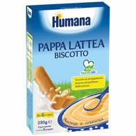 HUMANA PAPPEA LATTEA AL BISCOTTO230g