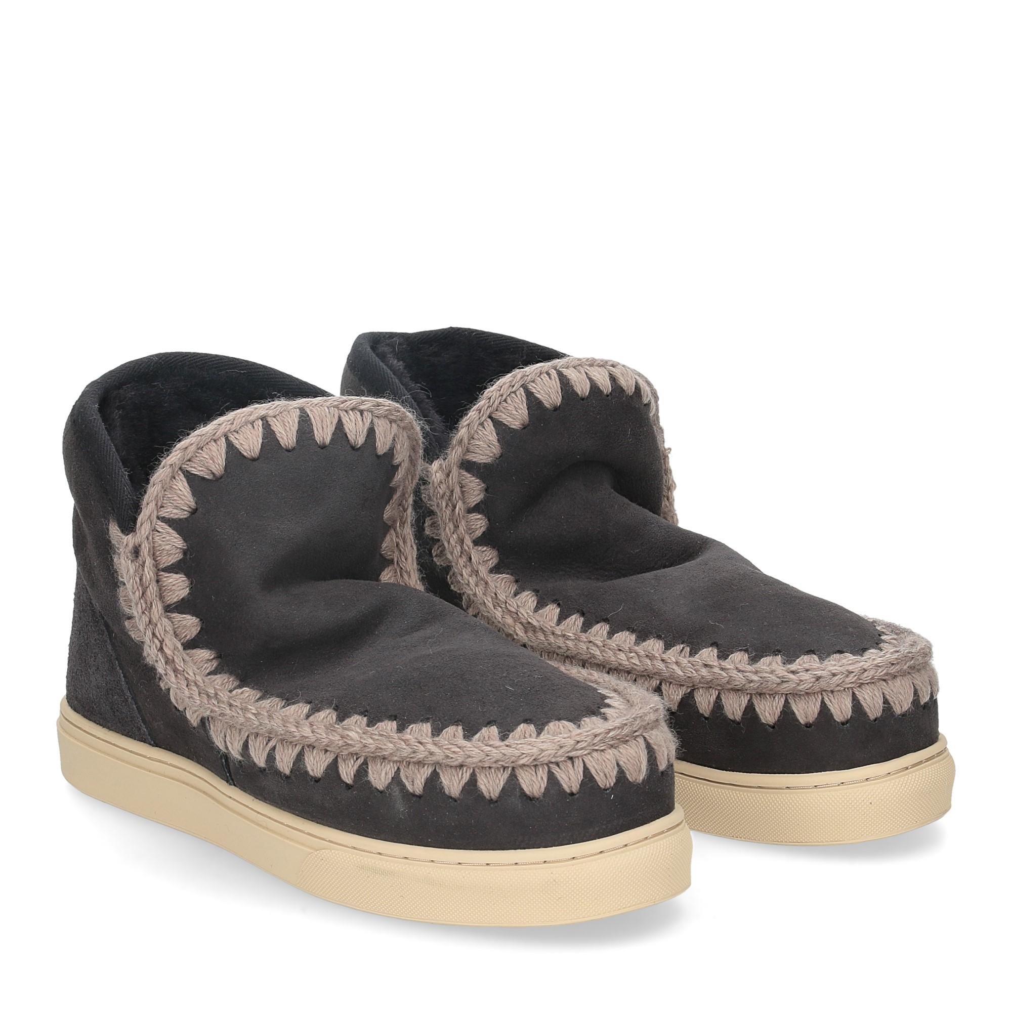 Mou Eskimo sneaker off black