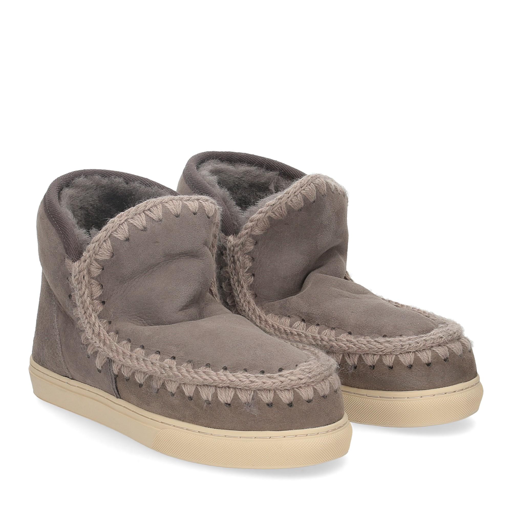 Mou Eskimo sneaker charcoal