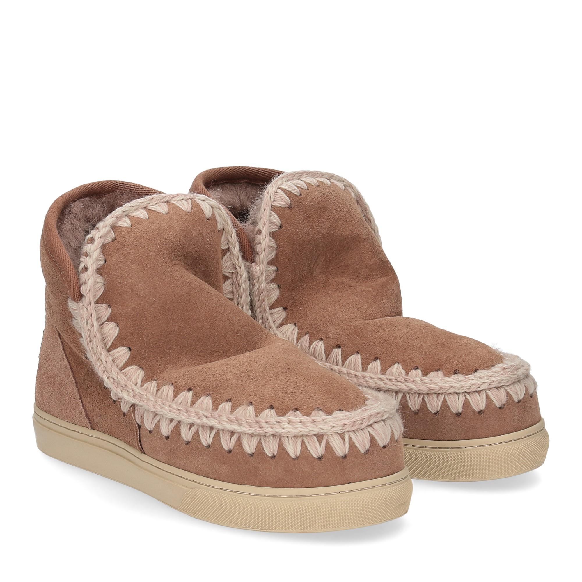 Mou Eskimo sneaker pink brown
