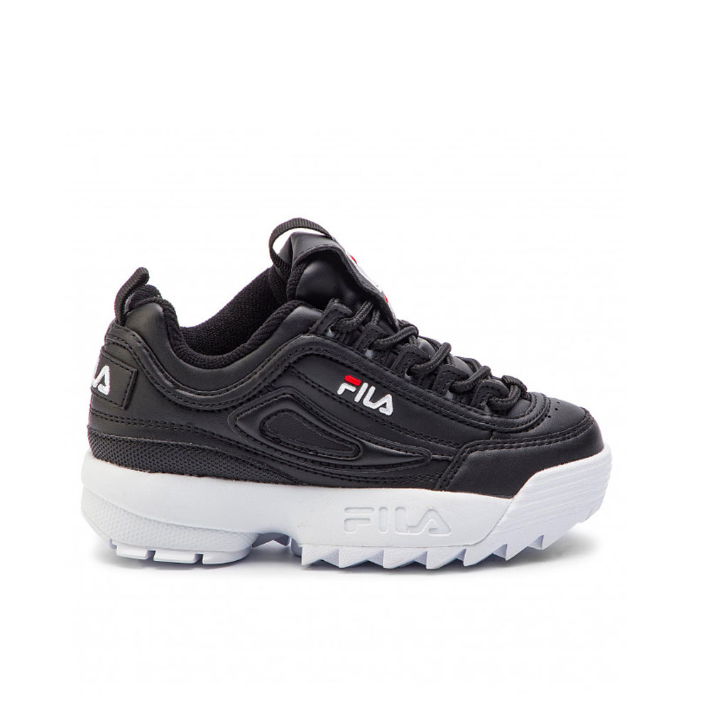Fila Disruptor Nero Bianco Kids Junior