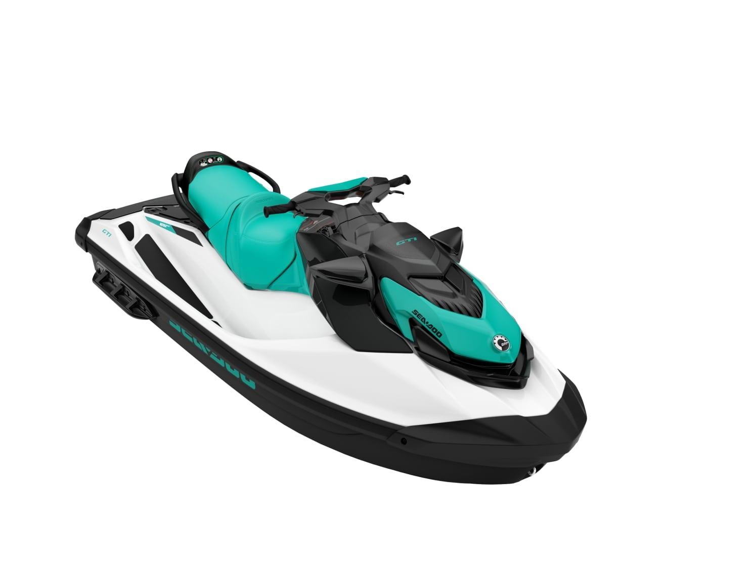 2021 - GTI STD 130 BRP SEADOO ( COLORE: WHITE &REEF BLUE)