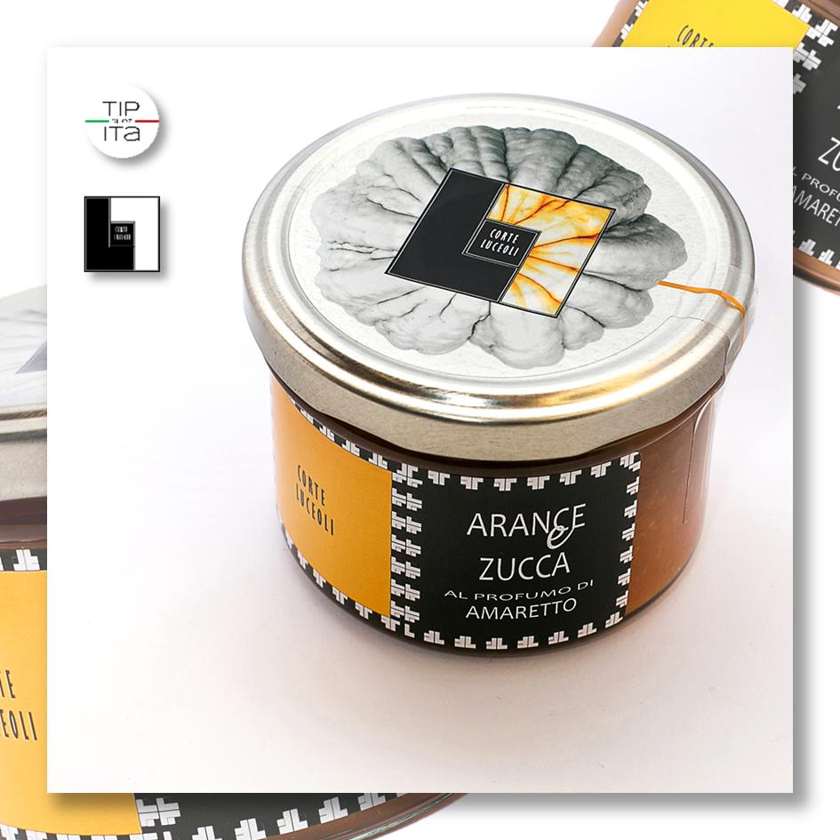 Composta di Arance & Zucca al profumo di Amaretto - 250gr