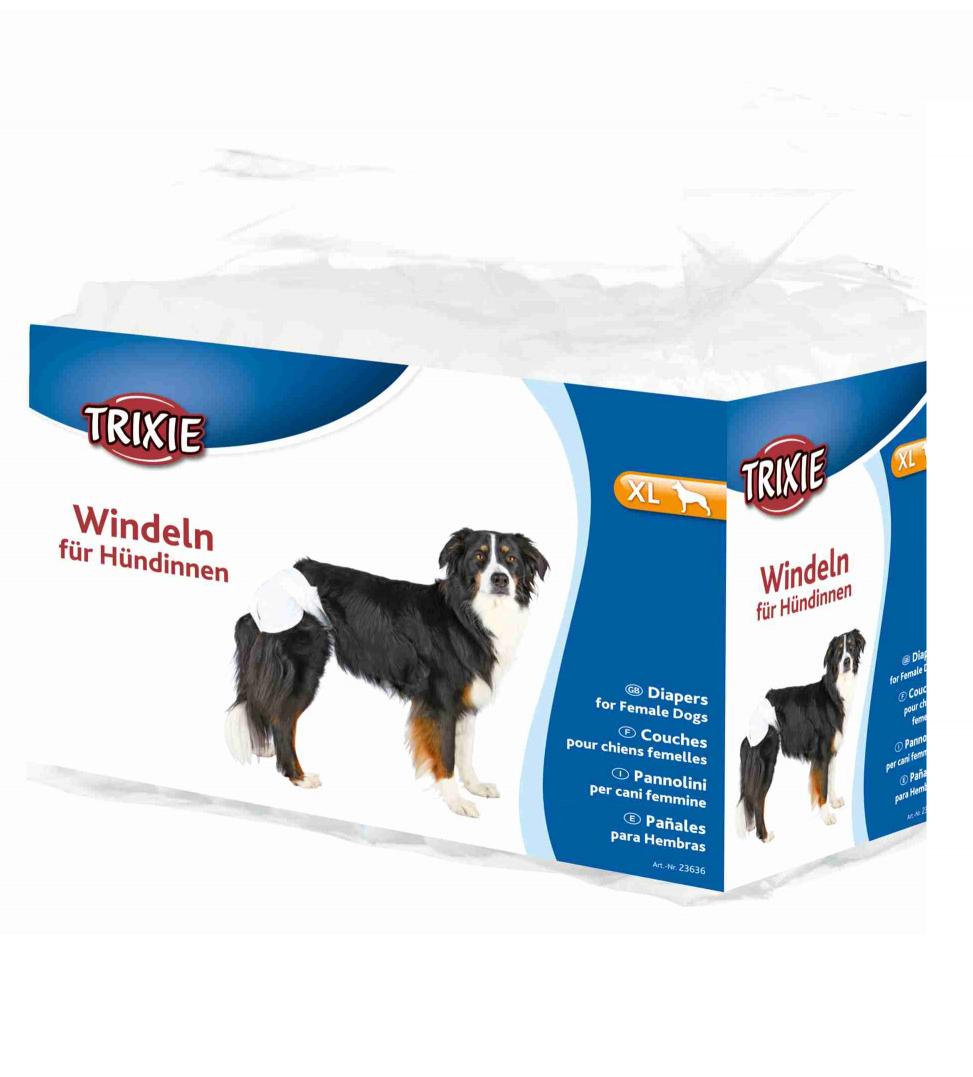 Trixie - Pannolini per Cani Femmina - XL