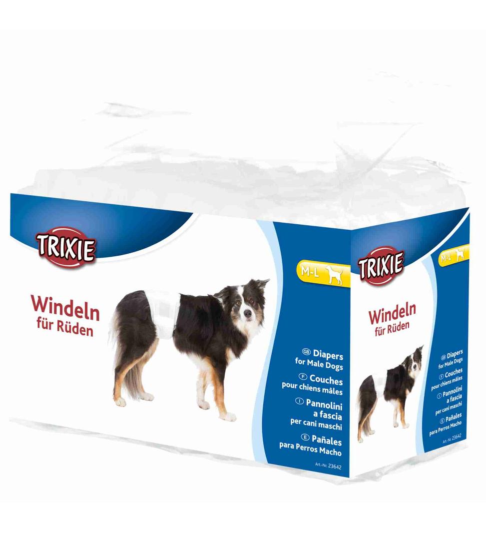Trixie - Pannolini per Cani Maschio - M/L
