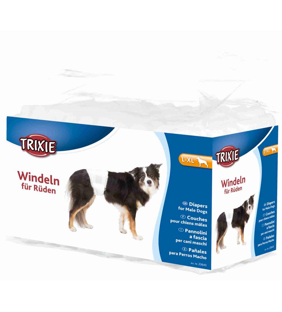 Trixie - Pannolini per Cani Maschio - L/XL