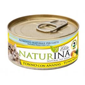 NATURINA ELITÉ GATTO TONNO CON ANANAS 70 GR