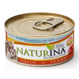 NATURINA ELITÉ GATTO POLLO E TONNO  70 GR