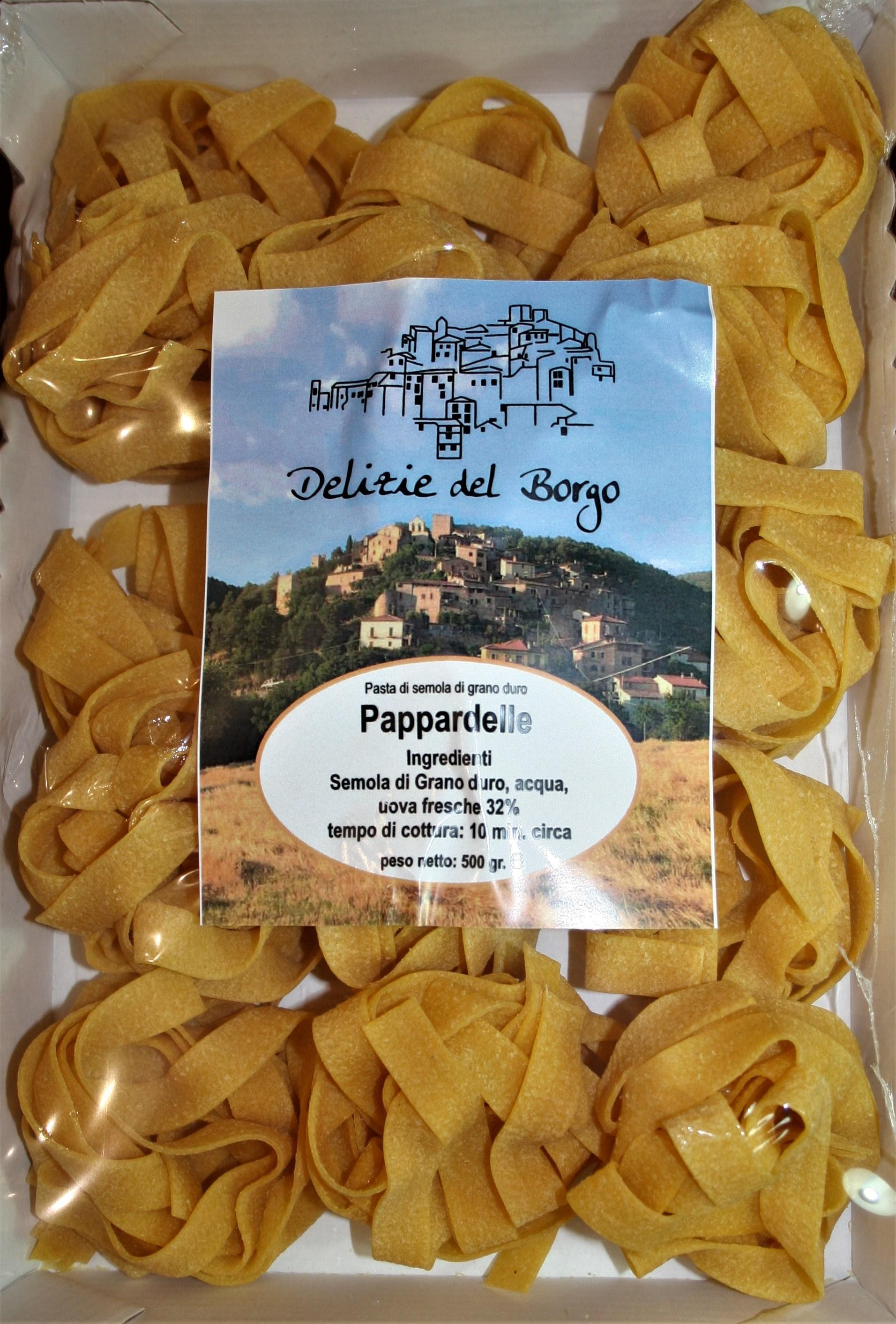 Pappardelle all'Uovo del Borgo