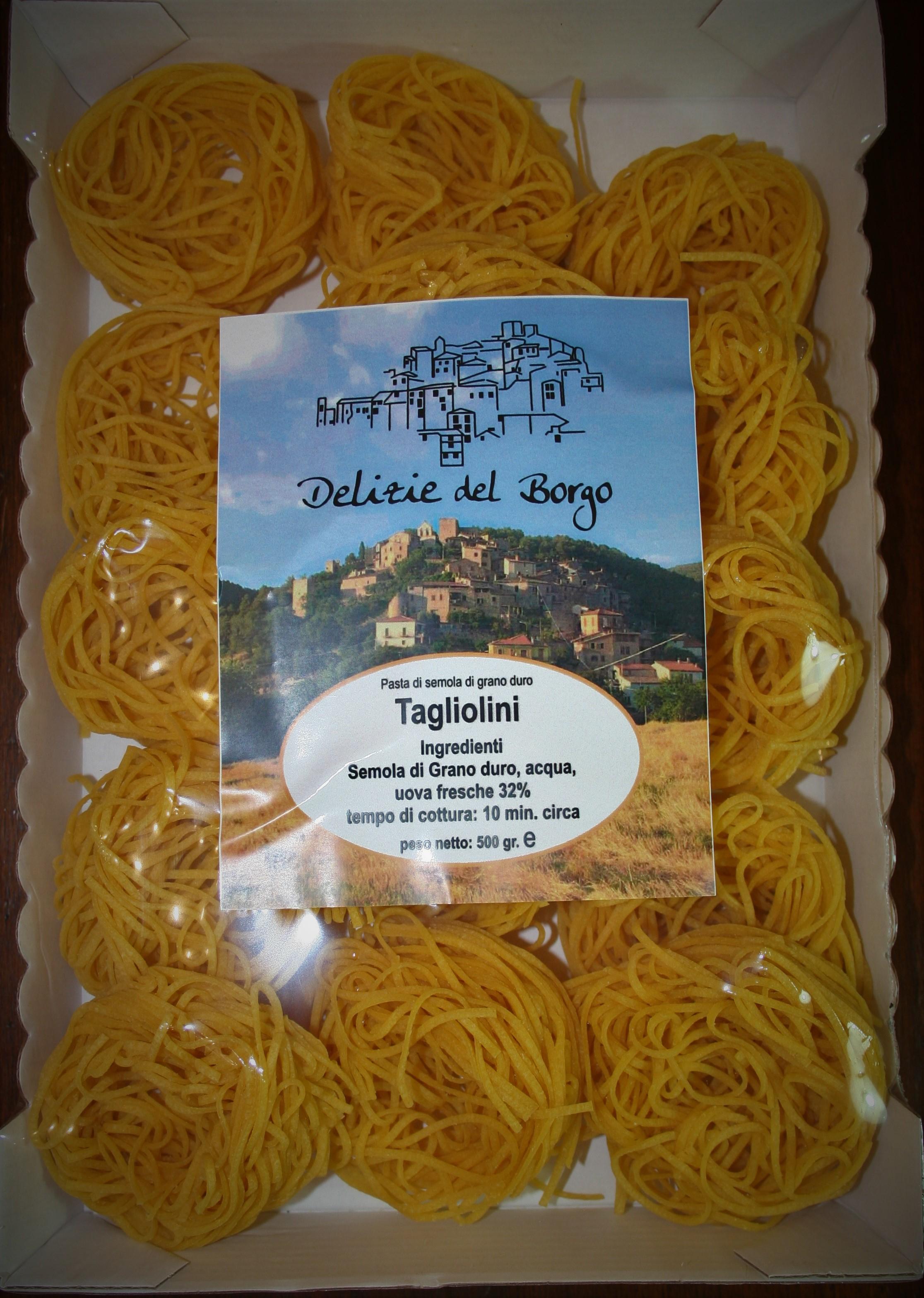 Tagliolini all'Uovo del Borgo