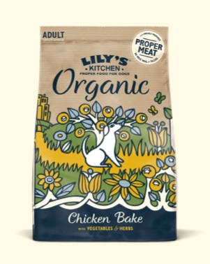 LILY'S KITCHEN ORGANIC ADULT CHICKEN & VEGETABLE 1 KG.