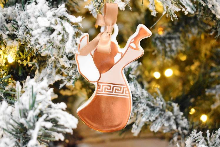 Angelo decorazione albero Baci Milano Copper
