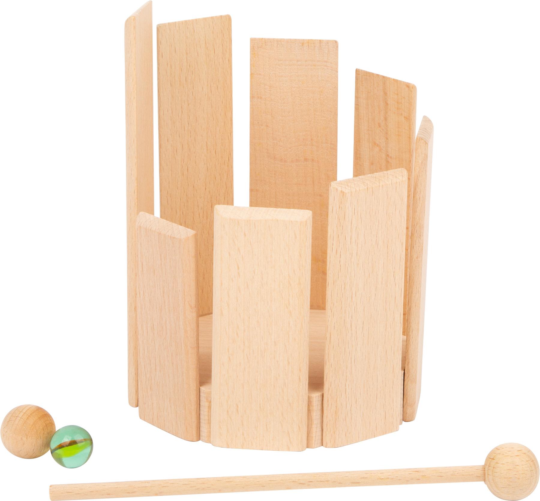Tamburo etnico in legno