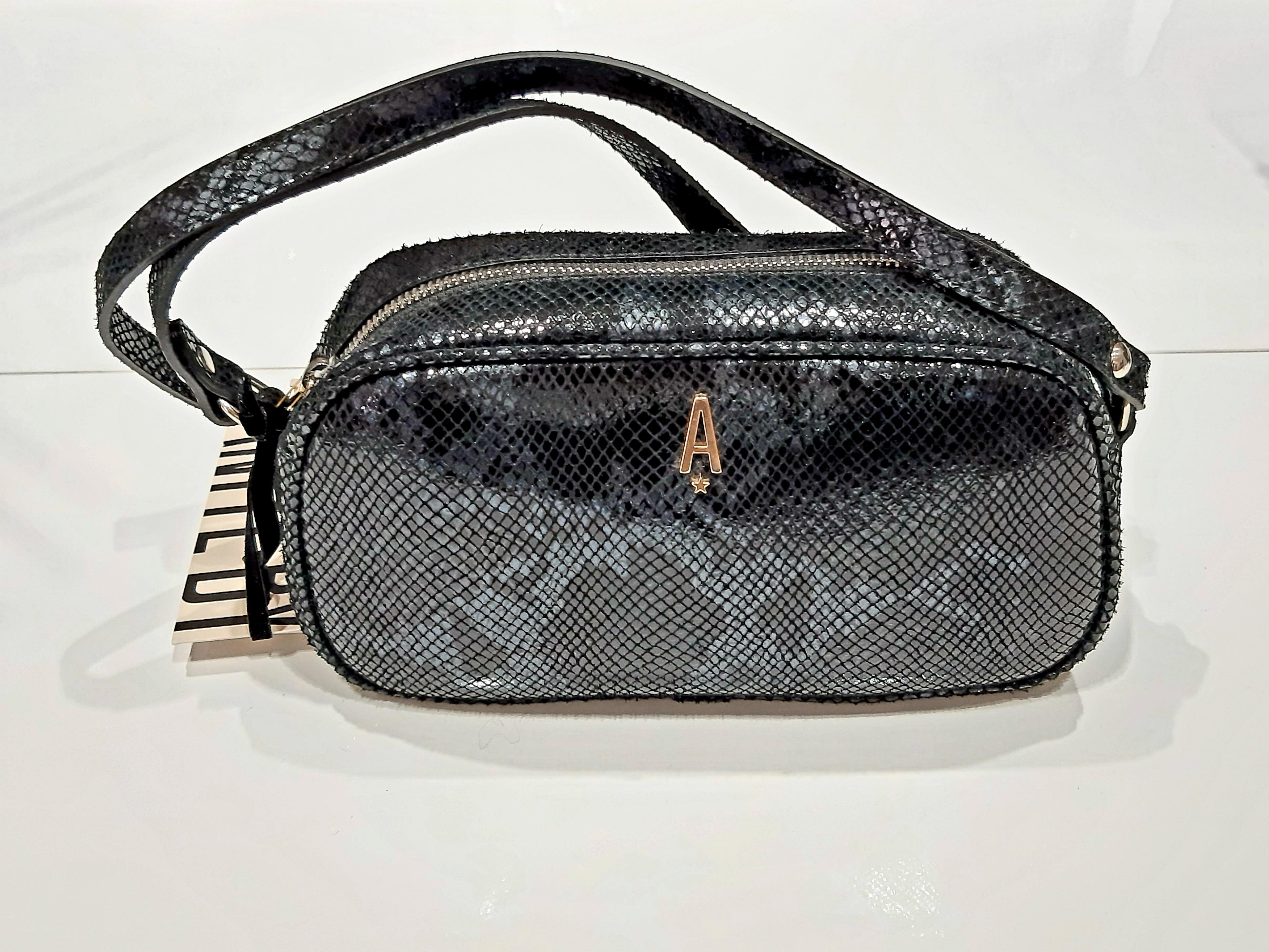 Tracolla Lalla bag  nero blu Aniye By.