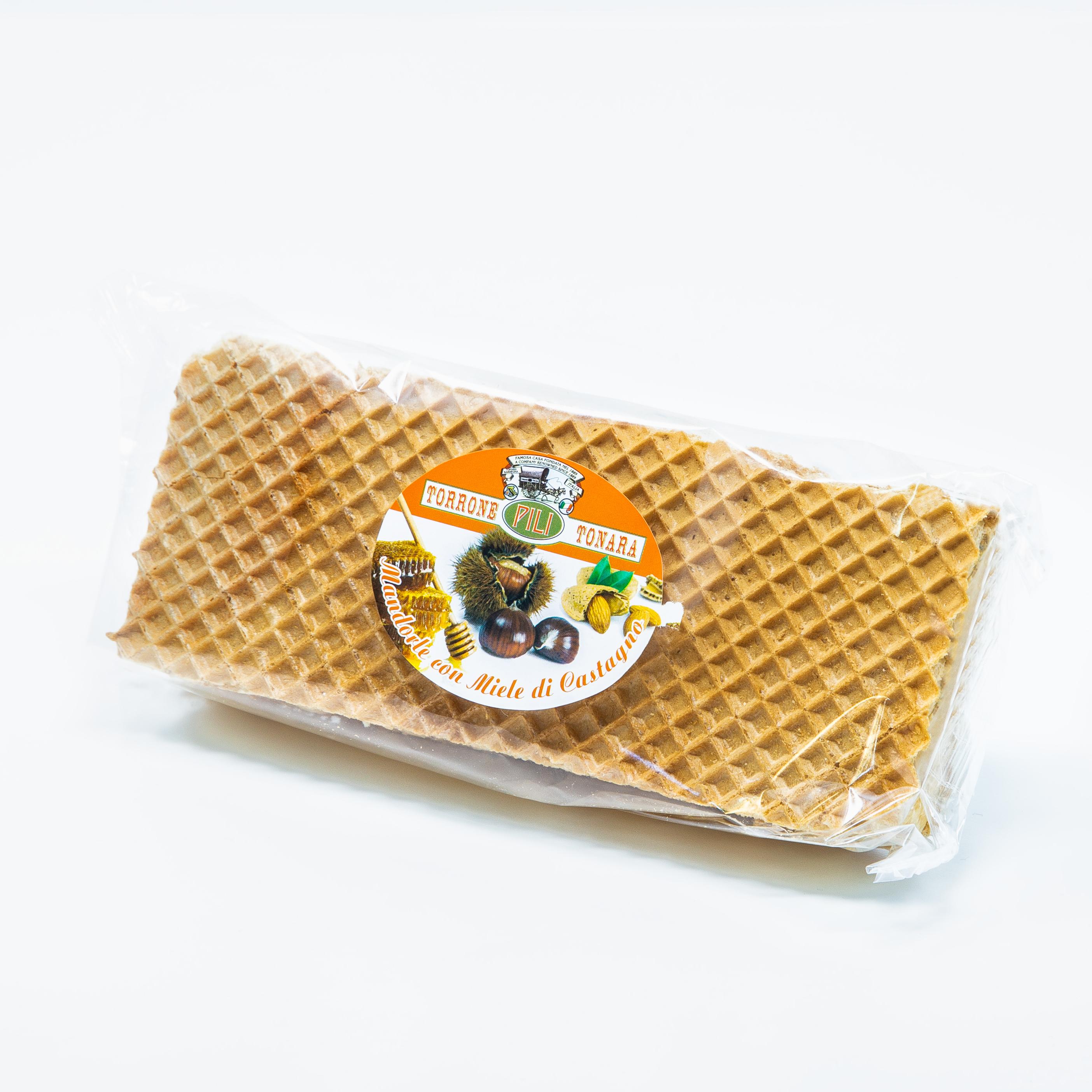 Stecca Torrone Mandorle al miele di castagno - 200 g
