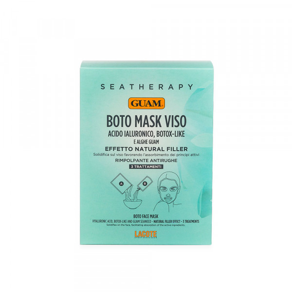 SEATHERAPY BOTO MASK VISO ALL'ACIDO IALURONICO GUAM
